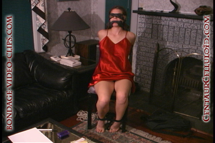 audra rain chairtied cleavegagged self-tied barefoot