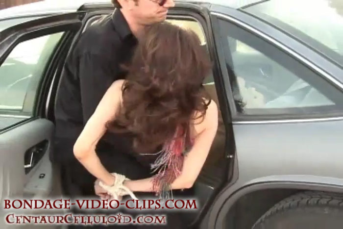 Natasha Flade Kidnapped & Chloroformed for Backseat Joyride Down the Road!